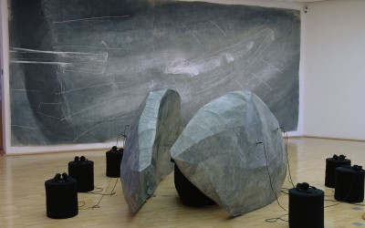 01 NachtAtem, Installation Galerie der Stadt Tuttlingen, 2008