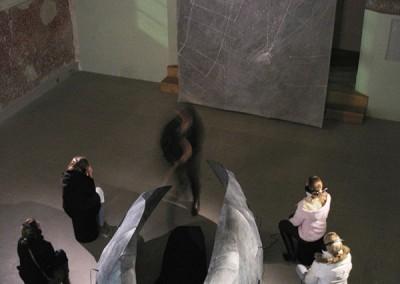 02 Nocturne, Installation in der Alten Kirche Mochenwangen, 2007