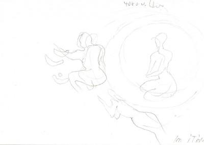 03 Saharaskizzenbuch 2013, Bleistift, 13 x 21 cm