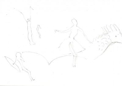 04 Saharaskizzenbuch 2013, Bleistift, 13 x 21 cm