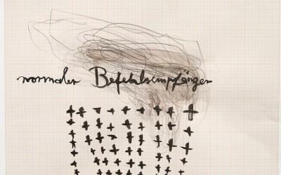 05 Hannah Arendt, 2013, Bleistift, Tusche, 29 x 42 cm