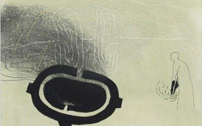05 Ténéré 2010, Pastellkreide, Kohle, Bunstift auf Papier, 62 x 43 cm
