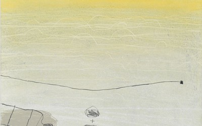 06 Ténéré 2010, Pastellkreide, Kohle, Bunstift auf Papier, 62 x 43 cm
