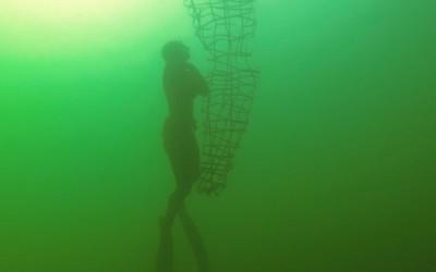 08 upside down, 2014, Filmstill, Unterwasservideo