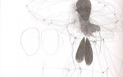 11 Skizzenbuch 2013, Bleistift auf Papier, 29 x 21 cm