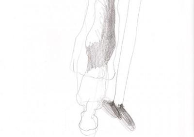 12 Skizzenbuch 2013, Bleistift auf Papier, 29 x 21