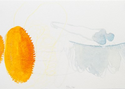 18 Marsa Alam Serie 2013, Aquarell, Bleistift auf Bütten, 15 x 24 cm