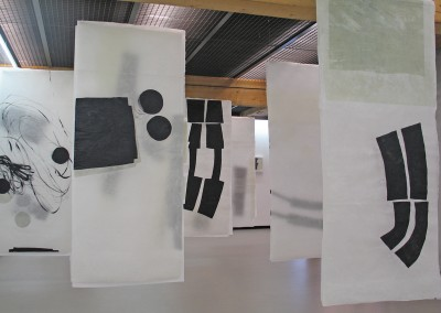 Serie contact, 2007 Installation Galerieverein Leonberg, 2008