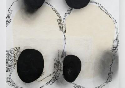 Einkreisung, 2016, 138 x 138 cm