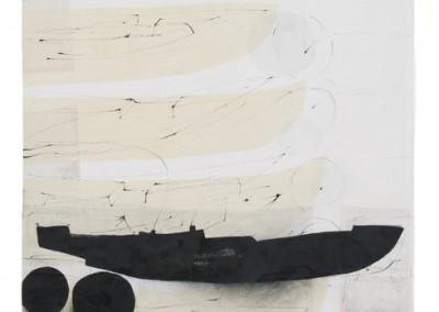 überfahrt, 2016, 230 x 123 cm