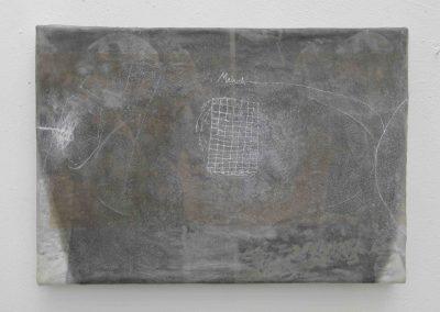 Mensch, 1996, 35 x 50 cm