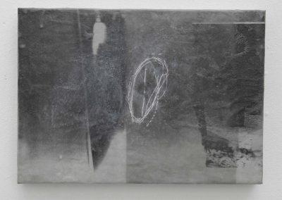 blinder Fleck, 2000, 24 x 30 cm