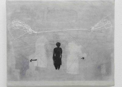 wenn der Bus kommt (Aktion T4), 2006, 24 x 30 cm