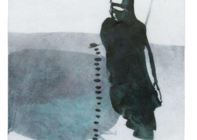 Serie Im Fluss II (1), 2017, 40 x 20 cm