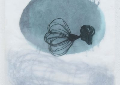 Serie Im Fluss II (2), 40 x 20 cm